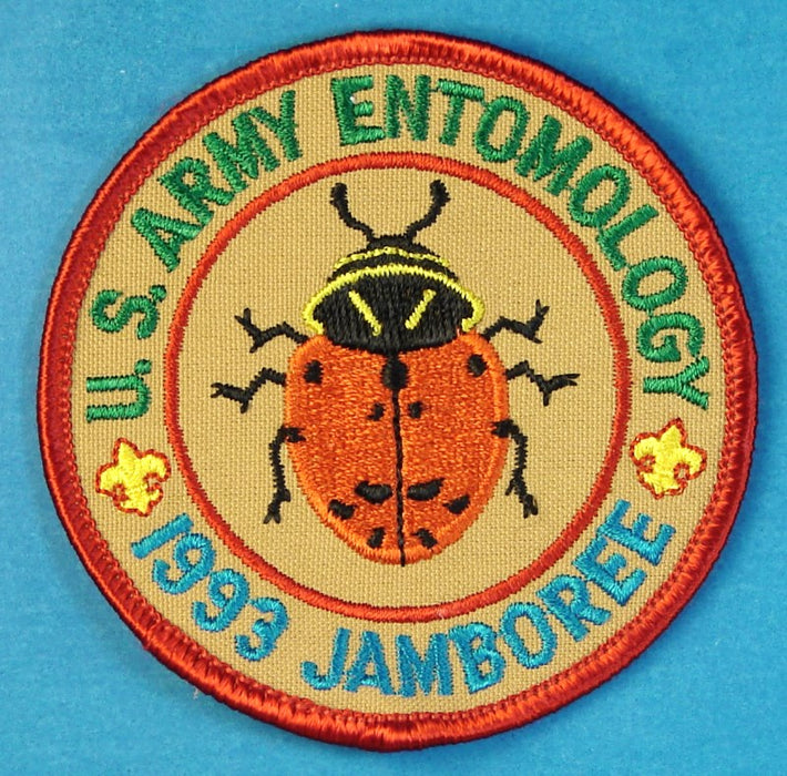 1993 NJ US Army Entomology Patch