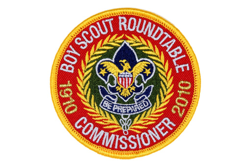 Boy Scout Roundtable Commissioner Patch 2010