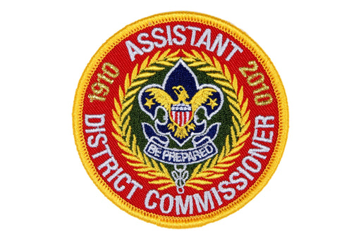 Assistant District Commissioner Patch 2010