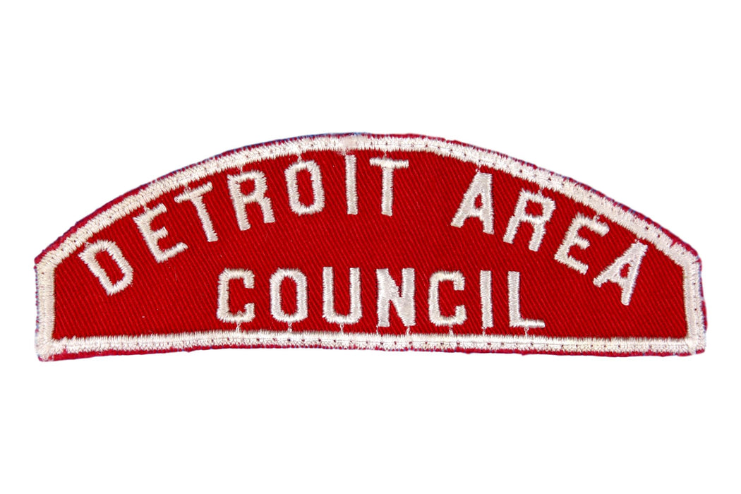 Detroit area Red and White Council Strip