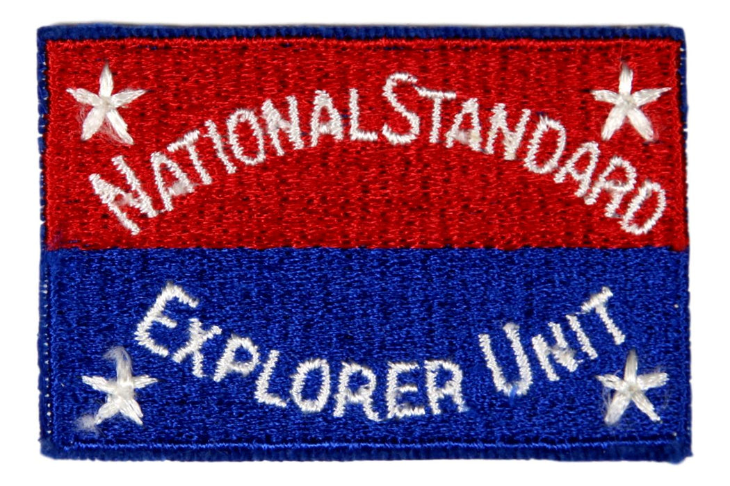 National Standard Explorer Unit Patch
