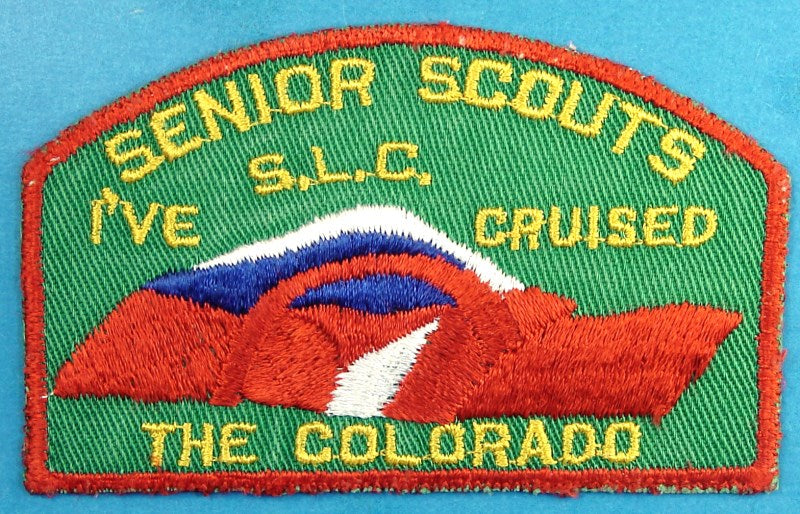 Great Salt Lake CSP Senior Scouts I've Cruised the Colorado
