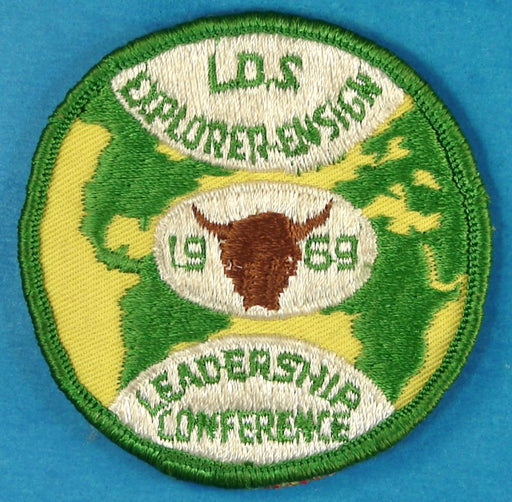1969 LDS Explorer Leadership Conference Patch
