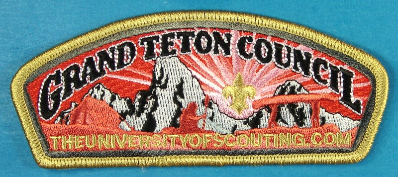 Grand Teton CSP SA-New TheUniversityofScouting.com Gold Border