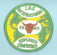 1963 LDS Explorer Leadership Conference Patch