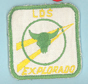 1971 LDS Explorer Leadership Conference Patch Explorado