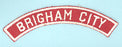 Brigham City Red and White City Strip