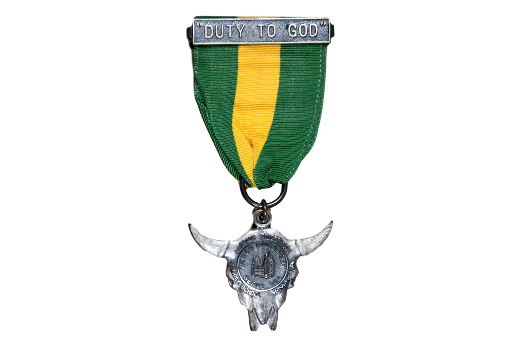 Duty to God Award Medal LDS Type 1A