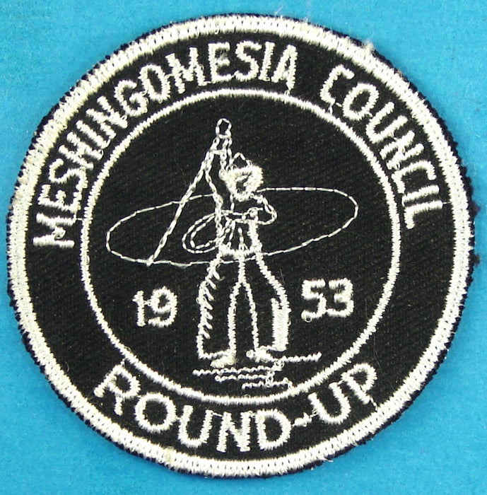 Meshingomesia Council 1953 Round-Up Patch