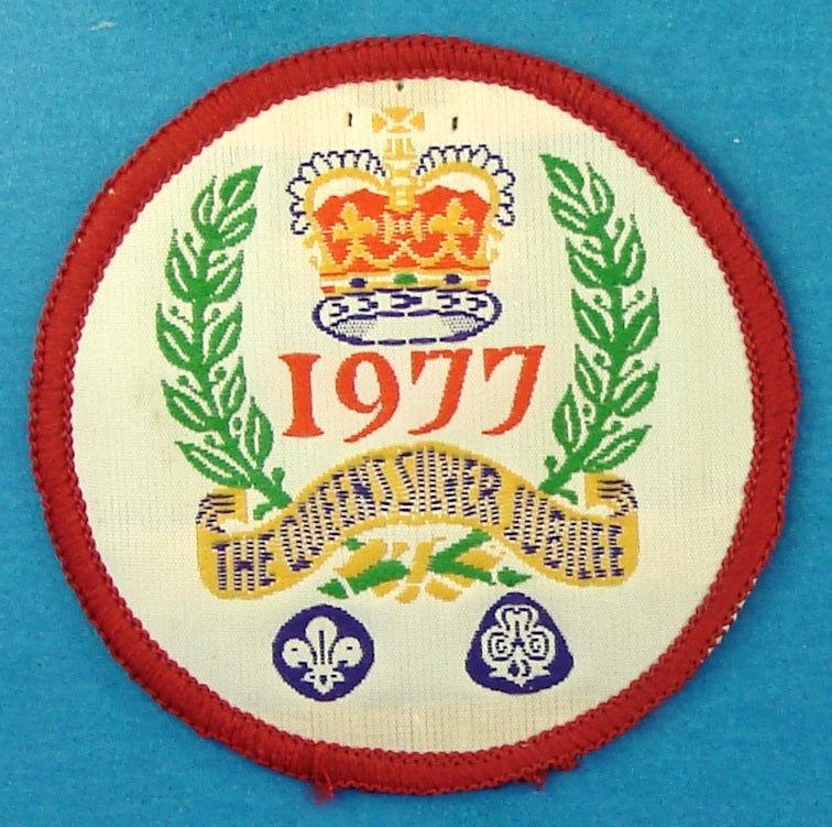 Queens Silver Jubilee Patch 1977
