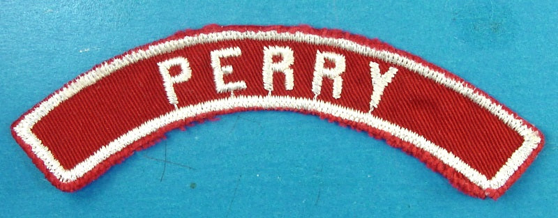Perry Red and White City Strip