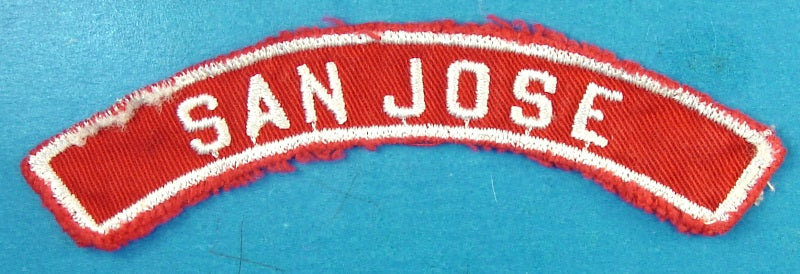 San Jose Red and White