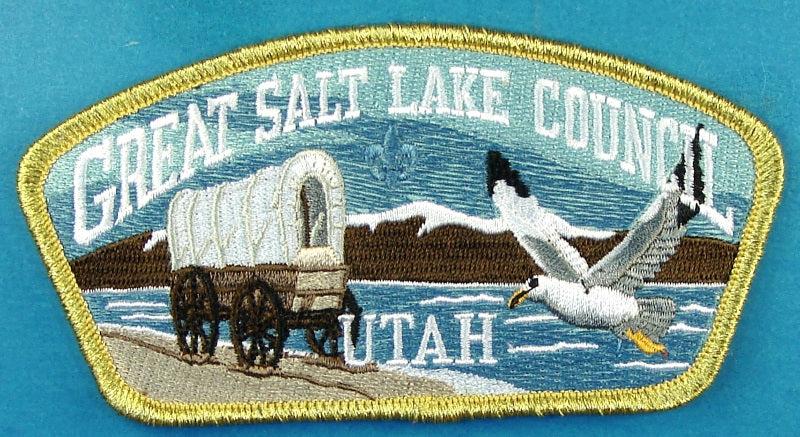 Great Salt Lake CSP SA-New 2015 SOR Auction Donation Gold Mylar