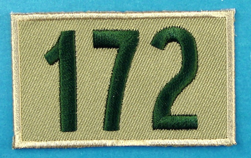 172 Unit Number Khaki