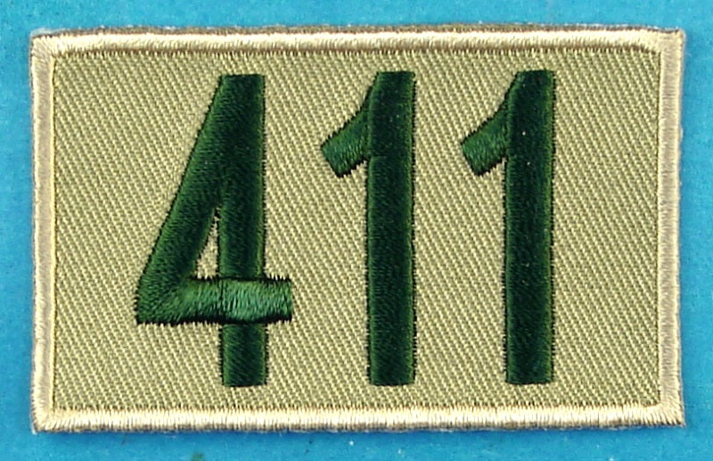 411 Unit Number Khaki