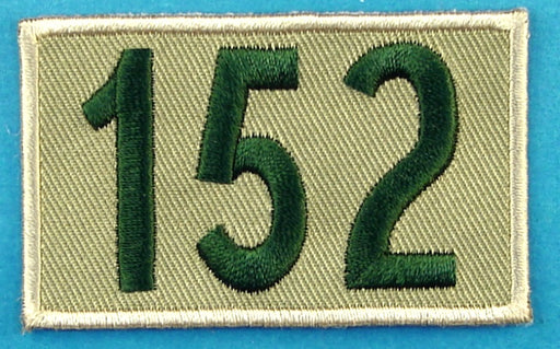 152 Unit Number Khaki