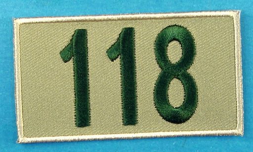 118 Unit Number Khaki