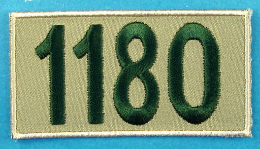 1180 Unit Number Khaki