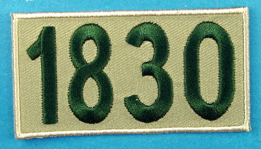 1830 Unit Number Khaki