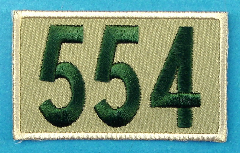 554 Unit Number Khaki