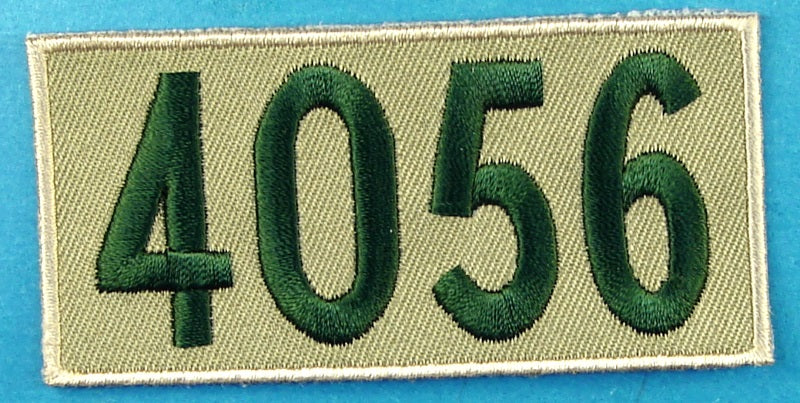 4056 Unit Number Khaki