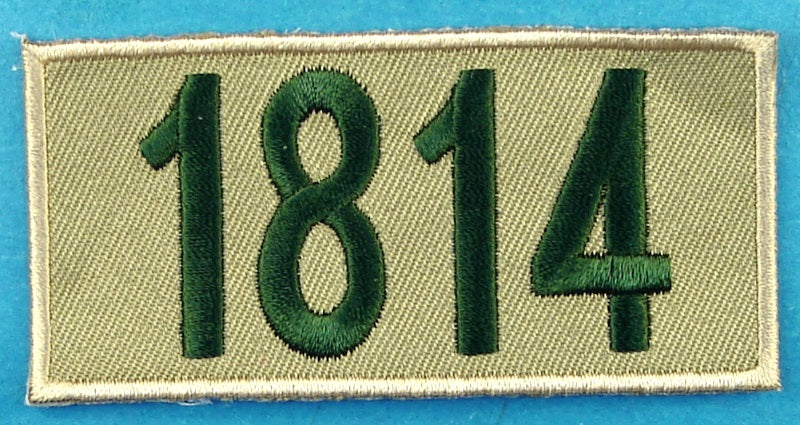 1814 Unit Number Khaki
