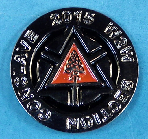 2015 Section W2W Conclave Pin