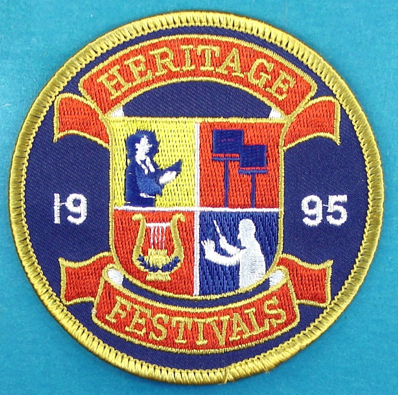 Heritage Festivals Patch 1985