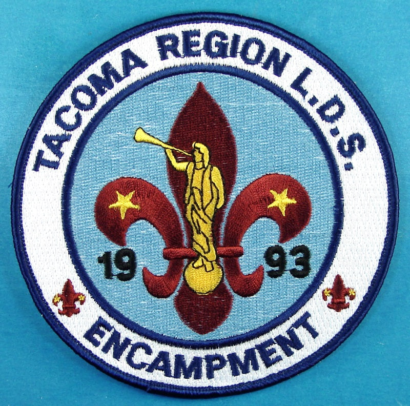 1993 Tacoma Region LDS Encampment Jacket Patch