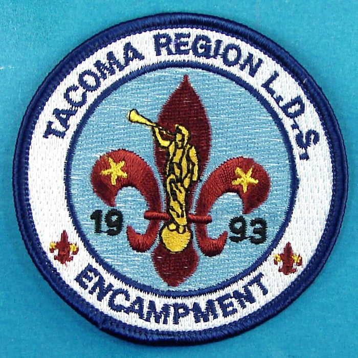 1993 Tacoma Region LDS Encampment Pocket Patch
