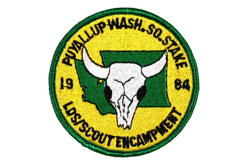 1984 Puyallup South Stake LDS Encampment Patch