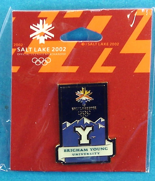 2002 Olympics Pin Brigham Young University