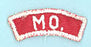 Missouri Red and White State Strip