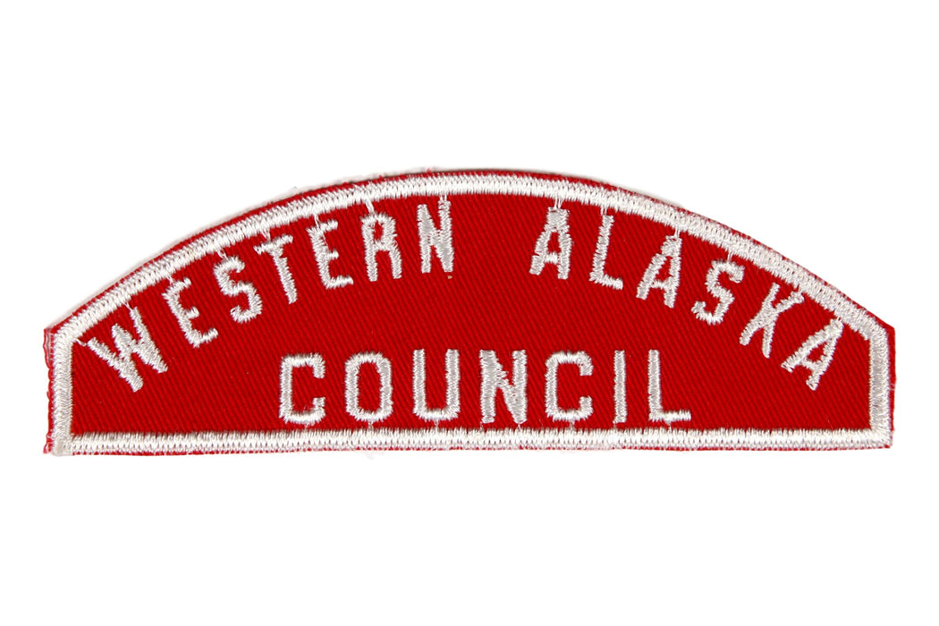 Western Alaska Red and White Council Strip