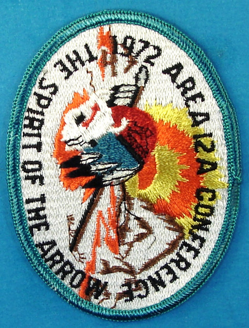 1972 Area 12A Conference Patch