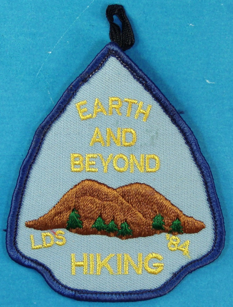 1984 Northwest Area LDS Encampment Earth and Beyond Patch