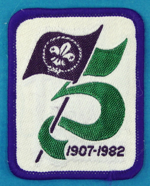 1982 Canadian 75th Anniversary Patch