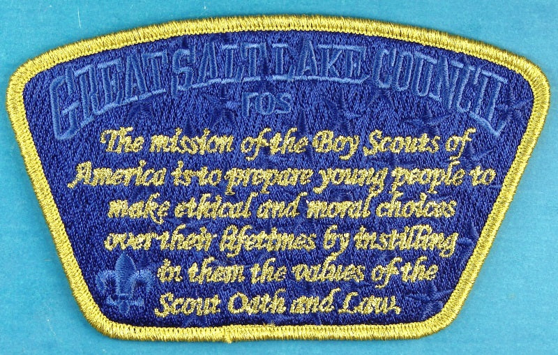 Great Salt Lake CSP SA-New FOS Mission of Boy Scouts