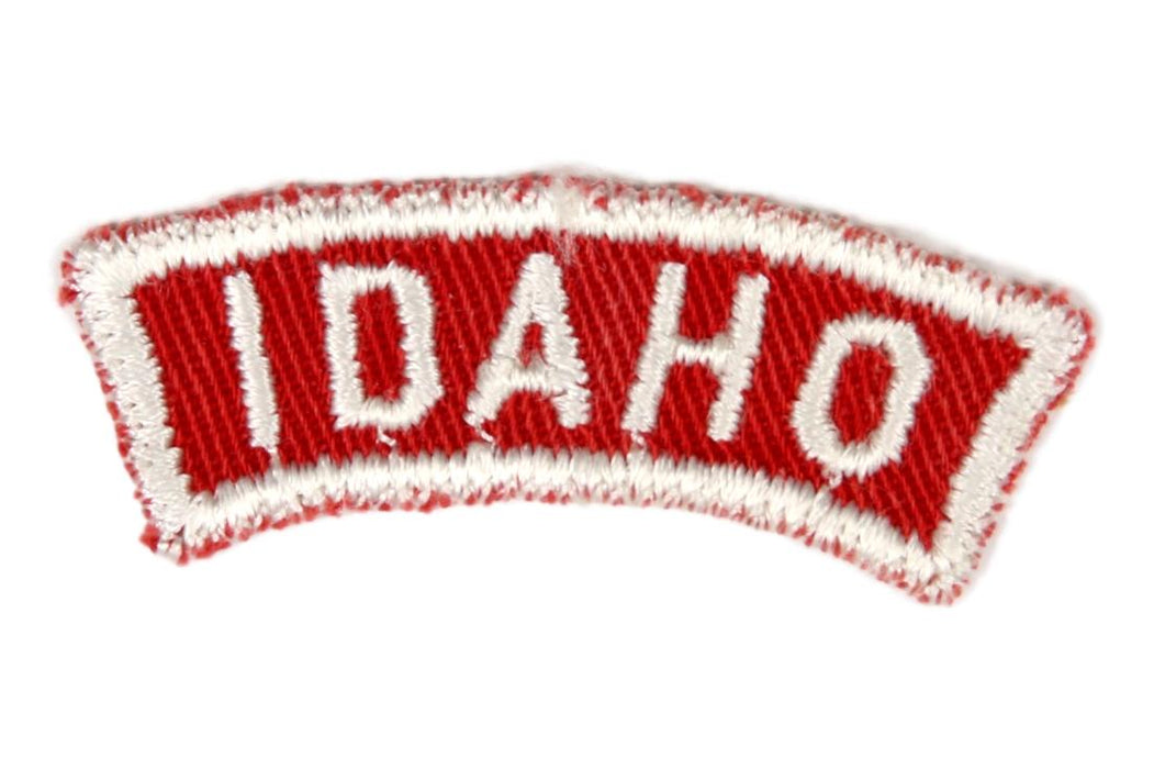 Idaho Red and White State Strip