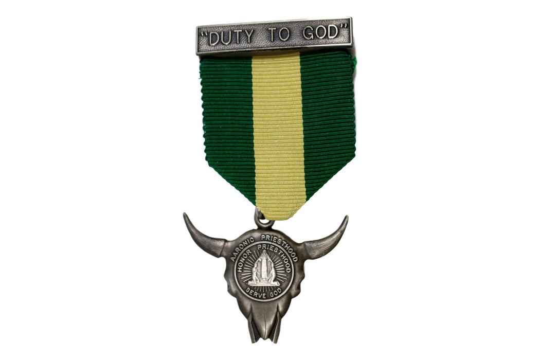 Duty to God Award Medal LDS Type 7D