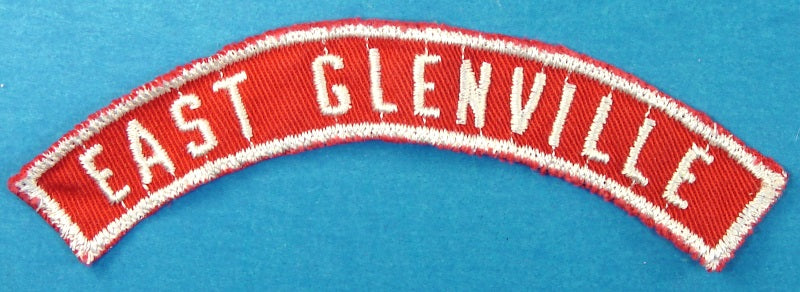 East Glenville Red and White City Strip