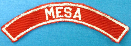 Mesa Red and White City Strip