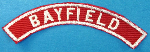 Bayfield Red and White City Strip