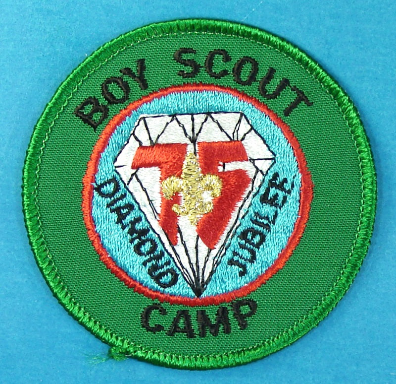 Diamond Jubilee Boy Scout Camp Patch