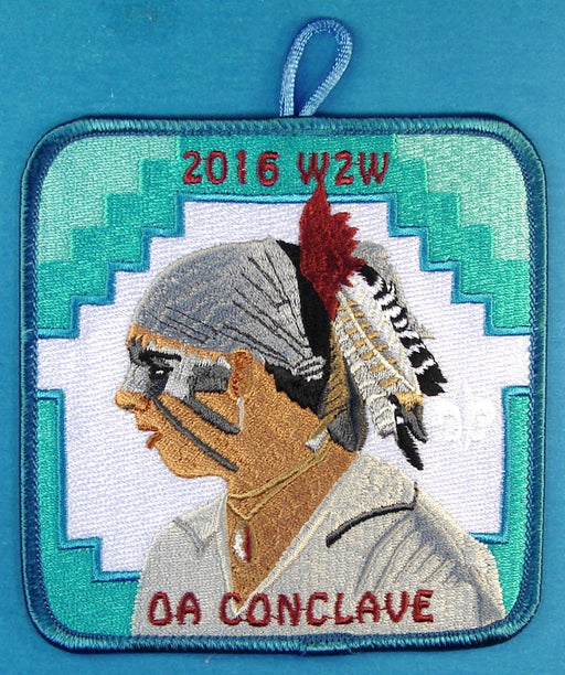 2016 W2W Section Conclave Participant Patch