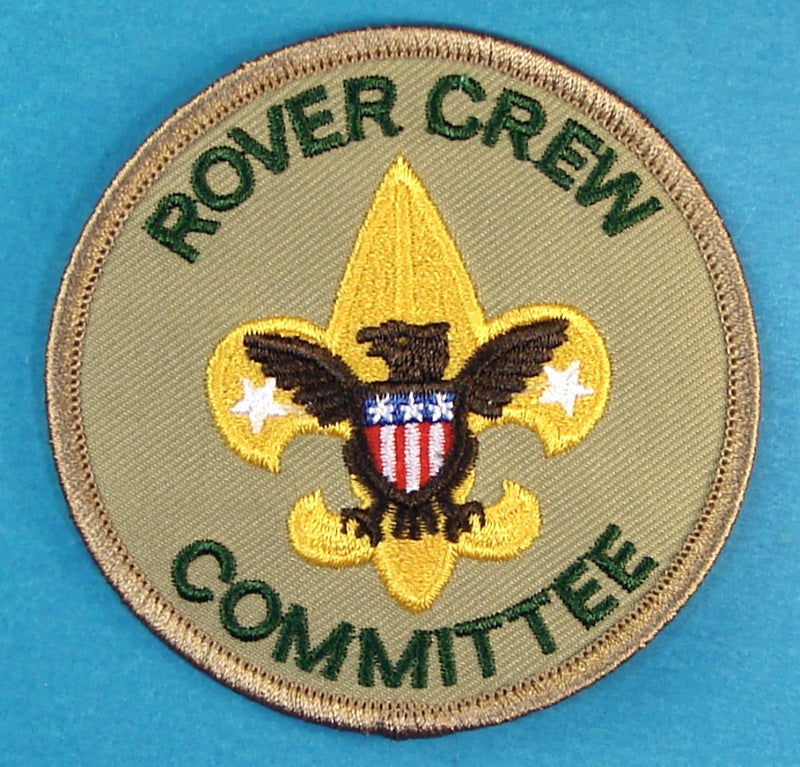 Rover Crew Committee Patch