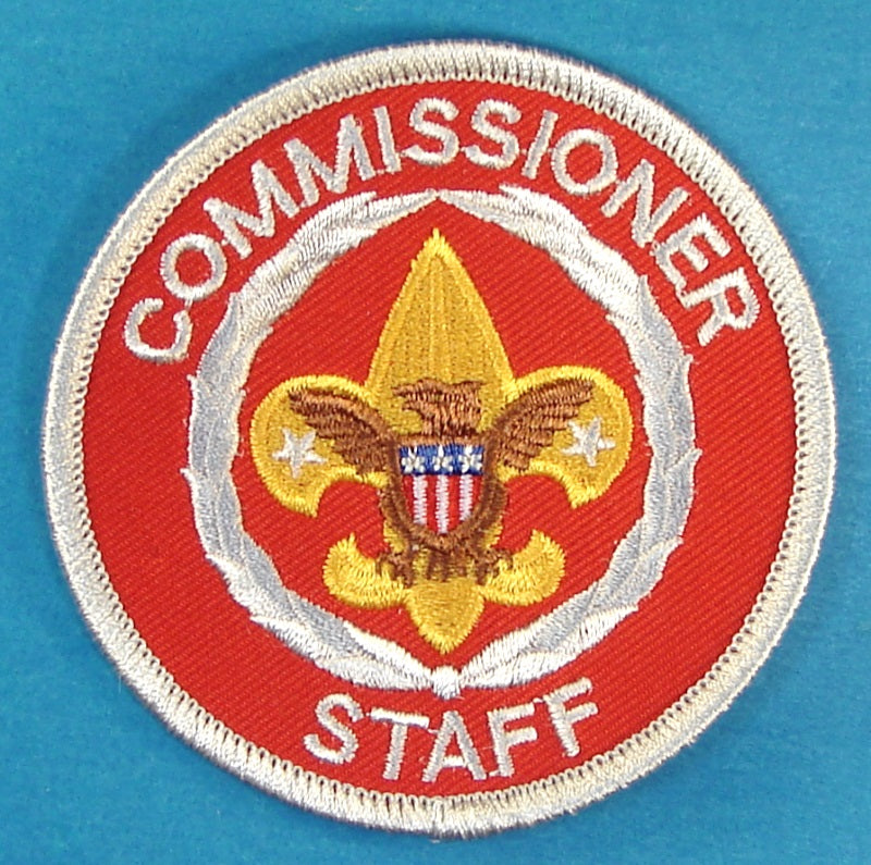 Commissioner Staff Patch