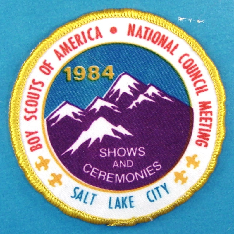 1984 National Council Meeting Patch