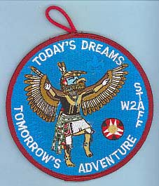 1997 Section W2A Conclave Staff Patch