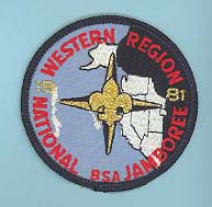 1981 NJ Western Region Patch